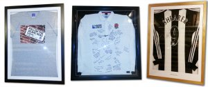 Football Shirt Framing and Sport Shirt Frames