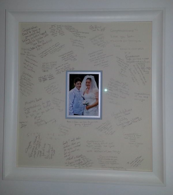 Wedding Guest Signing Frame